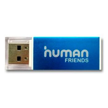 Купить Картридер Human Friends Speed Rate 'Glam' Blue, All-in-one. в Москве